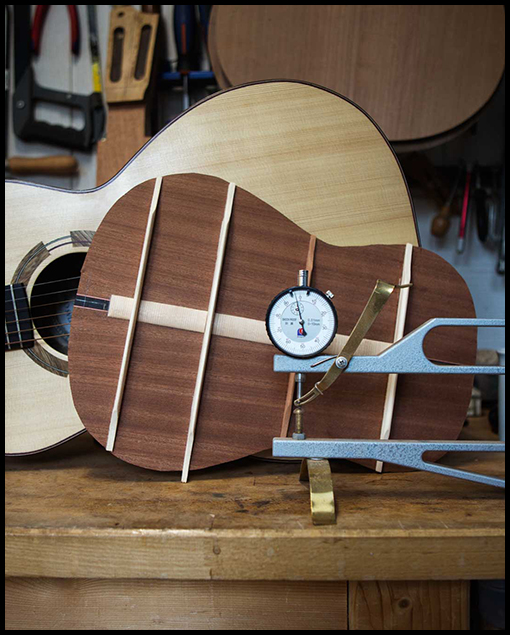 taller luthier guitarras Barcelona