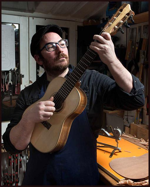 Matías Costa luthier guitarras