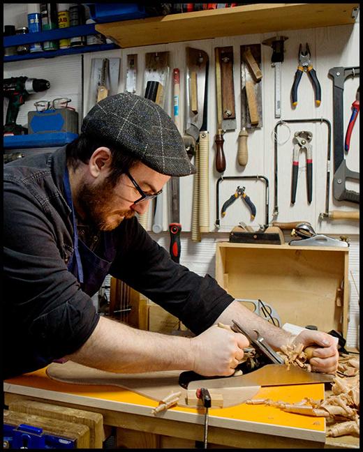 luthier reparación guitarras Barcelona Sabadell Floresta Cugat