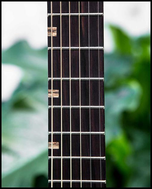 Diapasón guitarra artesanal Matias Costa luthier